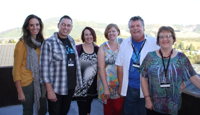 The Palmerston Nth ministry team